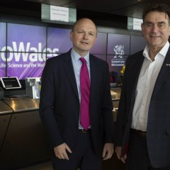 News Image:Pharmaceutical company Pfizer and Swansea University drive forward collaboration at BioWales 2018