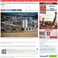 News Image:Health leaders delighted as Swansea Bay City Deal is given green light